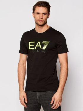 EA7 Emporio Armani EA7 Emporio Armani T-shirt 6HPT81 PJM9Z 1200 Noir Regular Fit