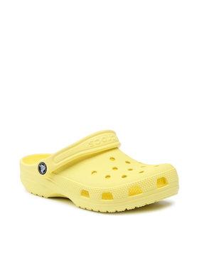 Crocs Crocs Șlapi Classic 10001 Galben