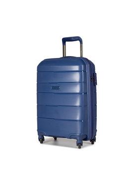 Puccini Puccini Malý tvrdý kufr Bahamas PP016C 7A Tmavomodrá