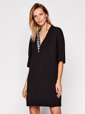 Just Cavalli Just Cavalli Ежедневна рокля S02CT1057 Черен Regular Fit