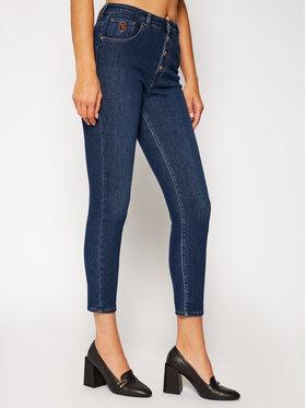 Trussardi Jeans Trussardi Jeans Prigludę (Slim Fit) džinsai Sophie 56J00120 Tamsiai mėlyna Slim Fit