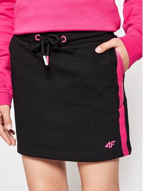4F 4F Spódnica HJL21-JSPUD001 Czarny Regular Fit