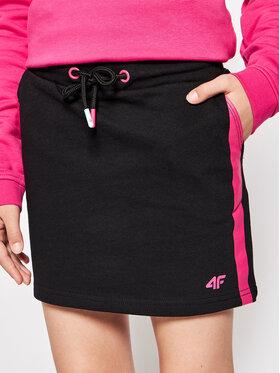 4F 4F Suknja HJL21-JSPUD001 Crna Regular Fit