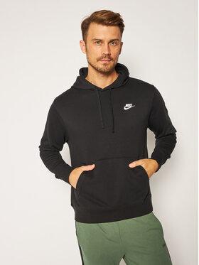 NIKE NIKE Sweatshirt Nsw Club Hoodie CZ7857 Schwarz Standard Fit
