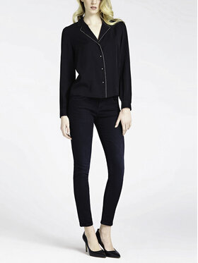 Guess Guess jeansy_skinny_fit Annette W94A99 D3U40 Tamsiai mėlyna Skinny Fit