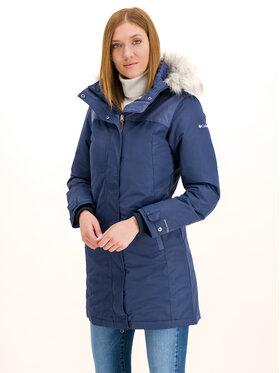 Columbia Columbia Zimní kabát Lindores 1810401 Tmavomodrá Slim Fit