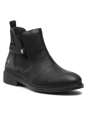 Rieker Rieker Členková obuv Z6161-00 Čierna