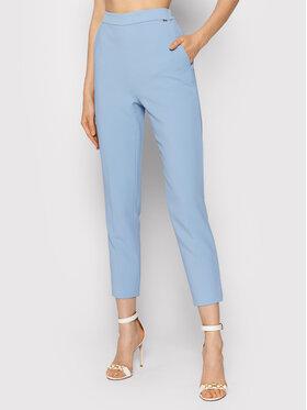 Elisabetta Franchi Elisabetta Franchi Chino kalhoty PA-390-16E2-V240 Modrá Slim Fit