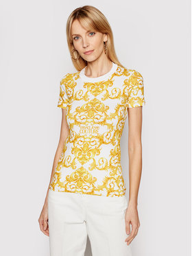 Versace Jeans Couture Versace Jeans Couture T-shirt B2HWA708 Blanc Slim Fit