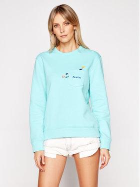 Drivemebikini Drivemebikini Sweatshirt Ocean 2020-DRV-005_AB Bleu Classic Fit