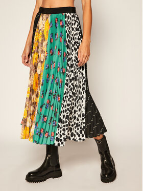 MSGM MSGM Plisovaná sukně 2941MDD27P 207778 Barevná Regular Fit