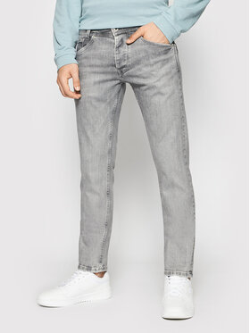 Pepe Jeans Pepe Jeans Jeansy Spike PM200029 Szary Regular Fit