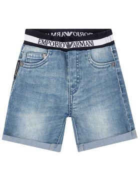Emporio Armani Emporio Armani Pantaloncini di jeans 3HHS03 4DFNZ 0942 Blu scuro Regular Fit