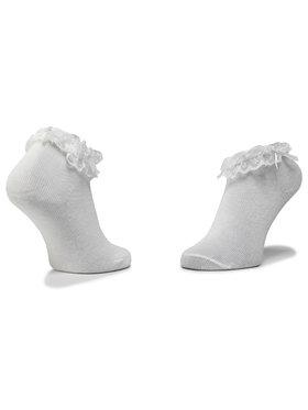 Mayoral Mayoral Sada 2 párů dětských vysokých ponožek 10738 Bílá