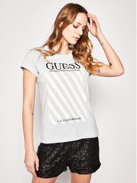 Guess Guess T-shirt Creamy Tee W0GI57 JA900 Blu Regular Fit