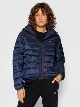 Tommy Jeans Tommy Jeans Pernata jakna Quilted DW0DW09350 Tamnoplava Regular Fit