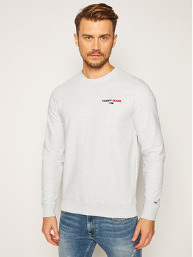 Tommy Jeans Tommy Jeans Суитшърт Tommy Chest Graphic DM0DM08729 Сив Regular Fit