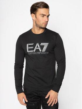 EA7 Emporio Armani EA7 Emporio Armani Sweatshirt 3HPM60 PJ05Z 1200 Schwarz Regular Fit