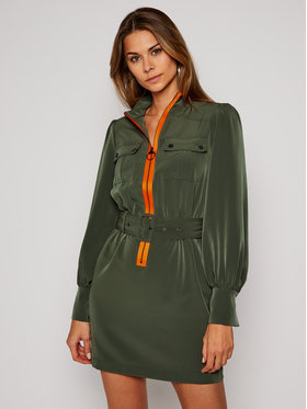 Guess Guess Kasdieninė suknelė Virginia W0BK0M WDEK2 Žalia Regular Fit
