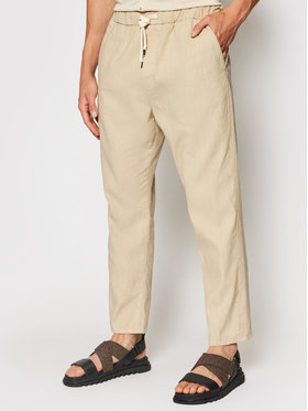 Imperial Imperial Spodnie materiałowe PD2UBJWTD Beżowy Regular Fit