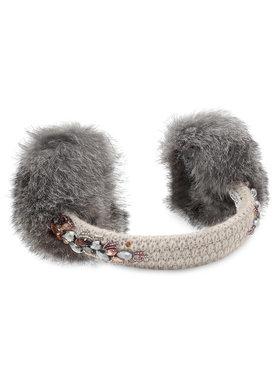 LaVashka LaVashka Zimní chrániče uší Ines 20-702-69-B Béžová