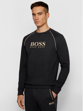 Boss Boss Bluza Tracksuit 50442816 Czarny Regular Fit