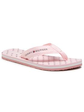 Tommy Hilfiger Tommy Hilfiger Flip-flops Th Mini Flags Beach Sandal FW0FW05663 Rózsaszín