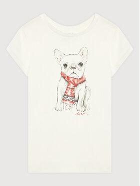 Polo Ralph Lauren Polo Ralph Lauren T-Shirt Holiday 313853363001 Biały Regular Fit