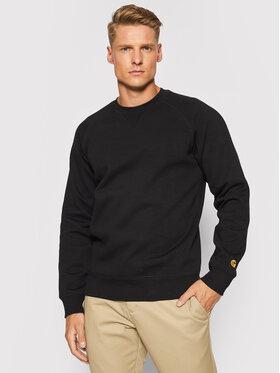 Carhartt WIP Carhartt WIP Bluză Chase I026383 Negru Regular Fit