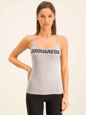 Dsquared2 Underwear Dsquared2 Underwear Топ D8D902520 Сив Slim Fit
