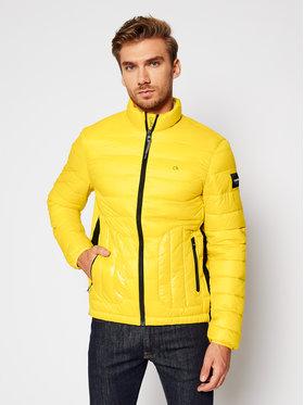 Calvin Klein Calvin Klein Vatovaná bunda Recycled K10K105964 Žltá Regular Fit