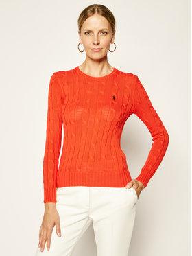 Polo Ralph Lauren Polo Ralph Lauren Sweter Julianna 211580009083 Czerwony Regular Fit
