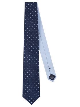 Tommy Hilfiger Tailored Tommy Hilfiger Tailored Krawatte Dot Tie TT0TT06889 Dunkelblau