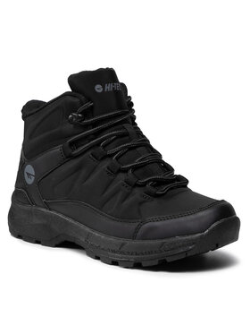 Hi-Tec Hi-Tec Παπούτσια πεζοπορίας Selven Mid Teen WS-AW21-HT-01-Q3 Μαύρο