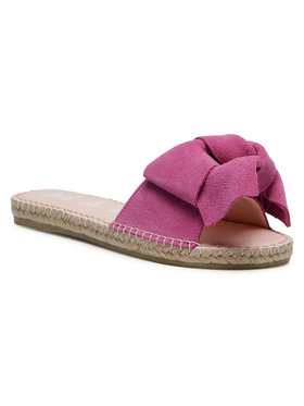 Manebi Manebi Espadrilės Sandals With Bow M 3.4 J0 Rožinė