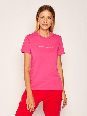 Diesel Diesel T-Shirt T-Sily 00SBGH 0HERA Różowy Regular Fit