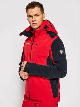 Descente Descente Kurtka narciarska DWMQGK0 Czerwony Regular Fit