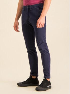 Calvin Klein Jeans Calvin Klein Jeans Kalhoty z materiálu J30J314063 Tmavomodrá Skinny Fit