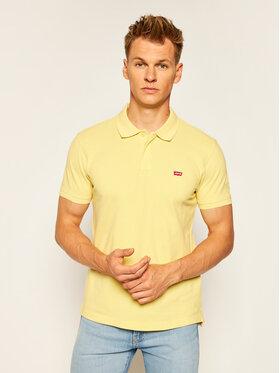 Levi's® Levi's® Тениска с яка и копчета Original Batwing 85633-0015 Жълт Regular Fit