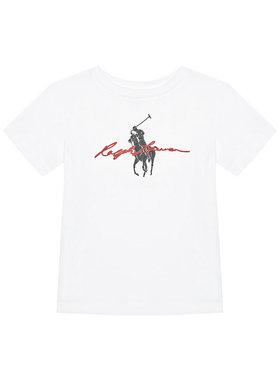 Polo Ralph Lauren Polo Ralph Lauren T-shirt Ss Graph Tee 322839239001 Blanc Regular Fit
