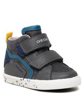 Geox Geox Sneakersy B Kilwi Boy C B04A7C 022ME C0665 M Szary