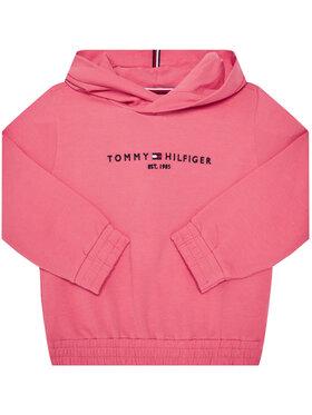 TOMMY HILFIGER TOMMY HILFIGER Bluză Essential Hooded KG0KG05216 M Roz Regular Fit