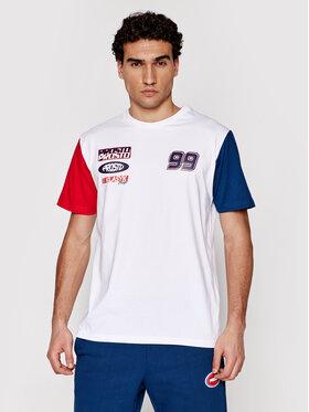PROSTO. PROSTO. Marškinėliai KLASYK Xenon 1032 Balta Regular Fit