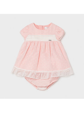 Mayoral Mayoral Φόρεμα κομψό 1819 Ροζ Regular Fit