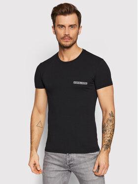 Emporio Armani Underwear Emporio Armani Underwear T-Shirt 111035 1A729 00020 Czarny Slim Fit