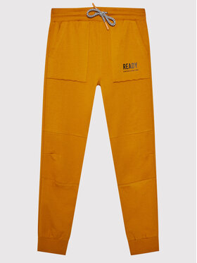 Coccodrillo Coccodrillo Παντελόνι φόρμας ZC1120111EVB Πορτοκαλί Regular Fit
