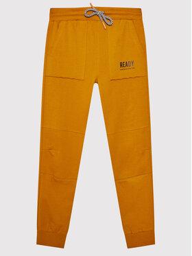 Coccodrillo Coccodrillo Teplákové nohavice ZC1120111EVB Oranžová Regular Fit