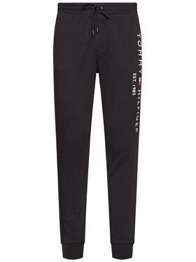 TOMMY HILFIGER TOMMY HILFIGER Teplákové kalhoty Basic Branded MW0MW08388 Černá Regular Fit