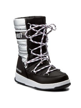 Moon Boot Moon Boot Stivali da neve Quilted Jr Met Wp 34051400002 Nero