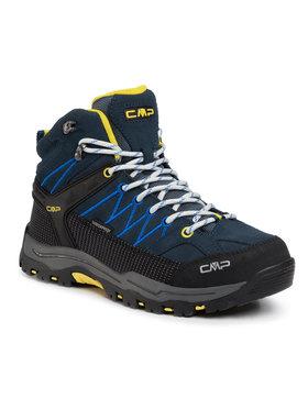 CMP CMP Scarpe da trekking Kids Rigel Mid Trekking Shoes Wp 3Q12944J Blu scuro